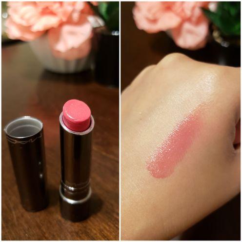 MAC huggable lip color cantonese carnation