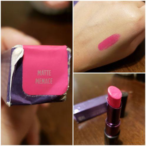 Urban Decay Matte lipstick,Matte Menace